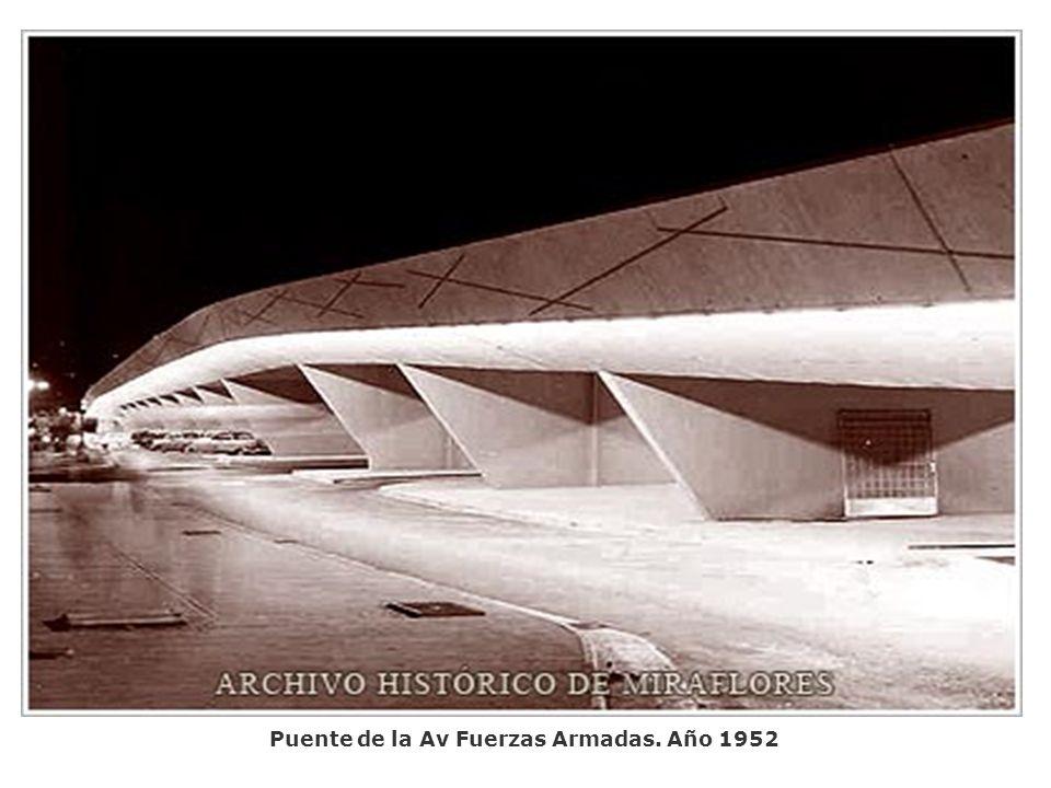 Puente Fuerzas Armadas. Caracas. Año