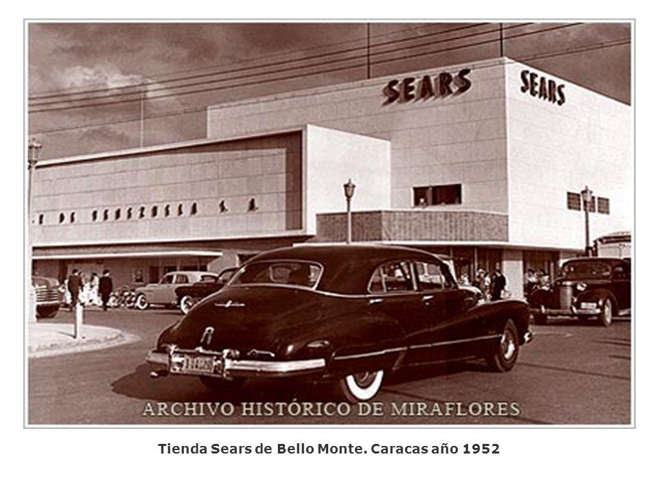 Tienda Sears de Bello Monte. Caracas año 1952