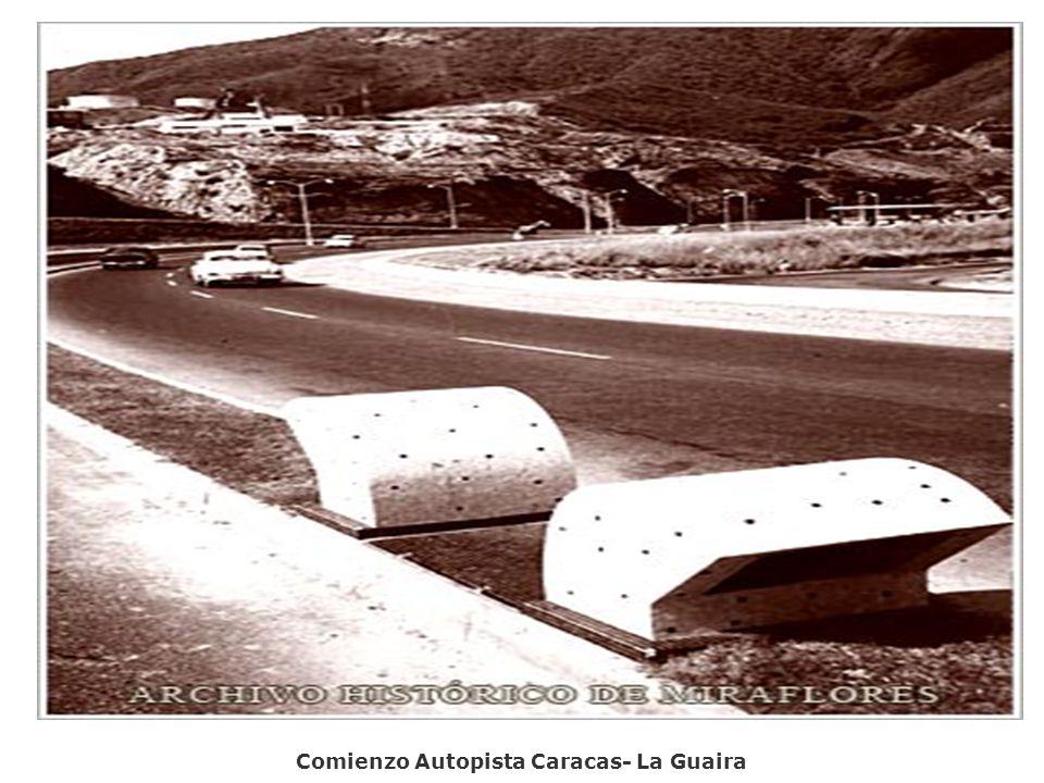 Comienzo Autopista Caracas- La Guaira