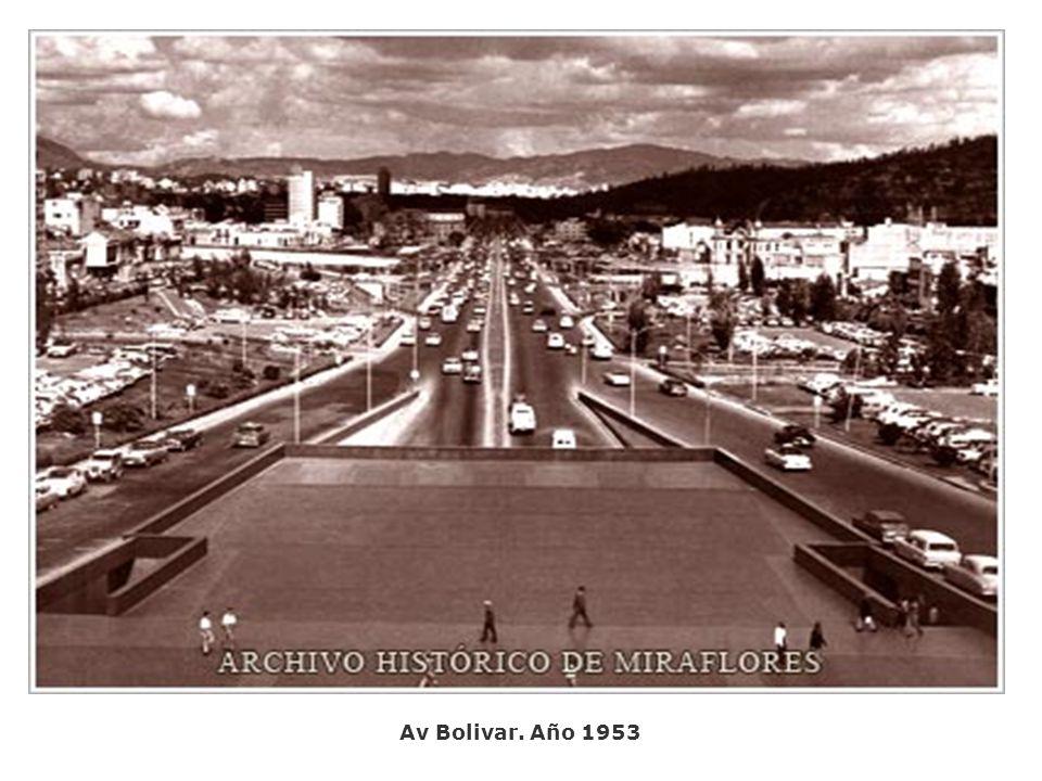 Av Bolivar. Año 1953
