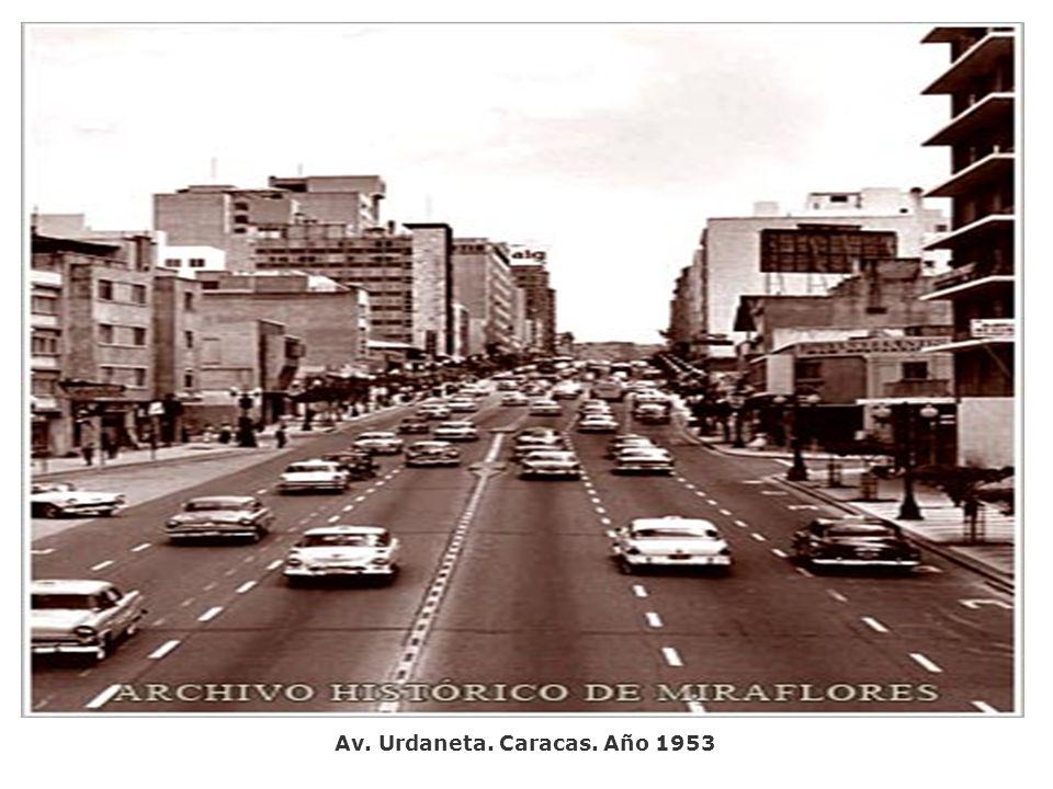 Av. Urdaneta. Caracas. Año 1953