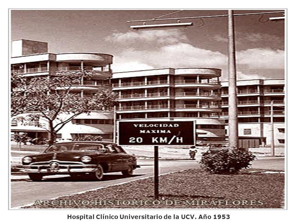 Edif. Beneficencia Pública. Av. San Martín. Año 1953