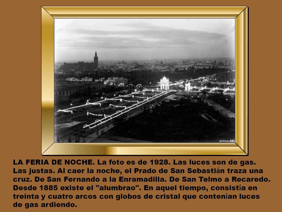 LA NUEVA PASARELA. En 1928 don Alfonso XIII visit ó Sevilla en abril para inaugurar el hotel que hoy lleva su nombre. La Pasarela, que hab í a sido de