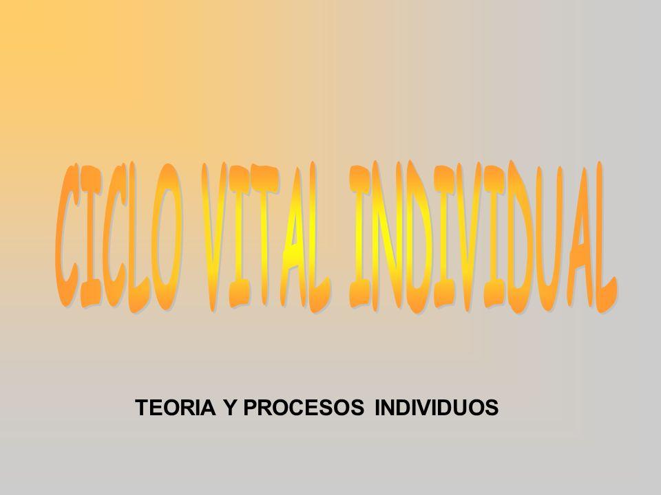 TEORIA Y PROCESOS INDIVIDUOS