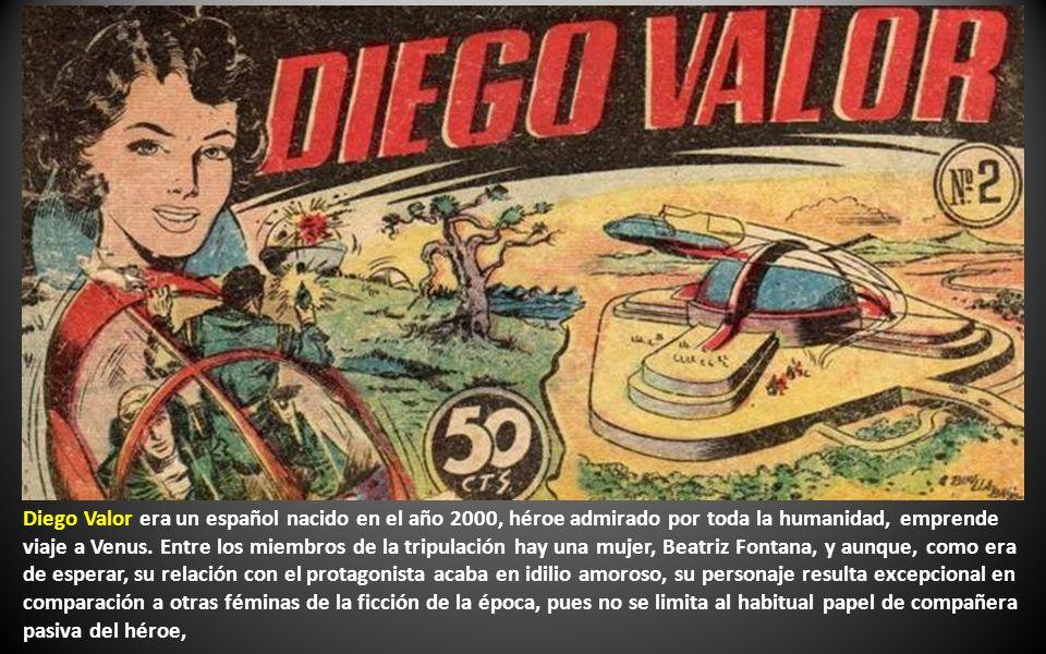 DIEGO VALOR (1954), es el cómic por excelencia de la llamada ciencia-ficción a la española.