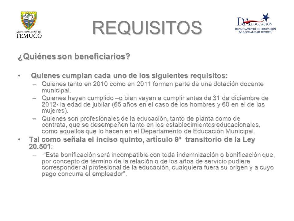 REQUISITOS ¿Quiénes son beneficiarios? Quienes cumplan cada uno de los siguientes requisitos: Quienes cumplan cada uno de los siguientes requisitos: –