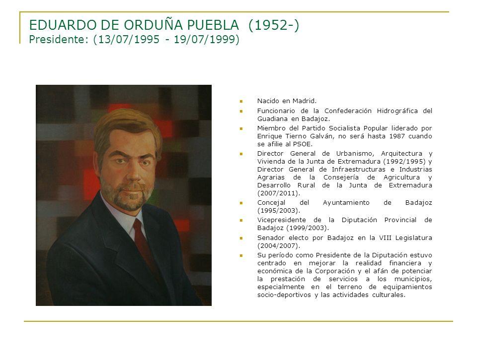 Nacido en Madrid. Funcionario de la Confederación Hidrográfica del Guadiana en Badajoz. Miembro del Partido Socialista Popular liderado por Enrique Ti