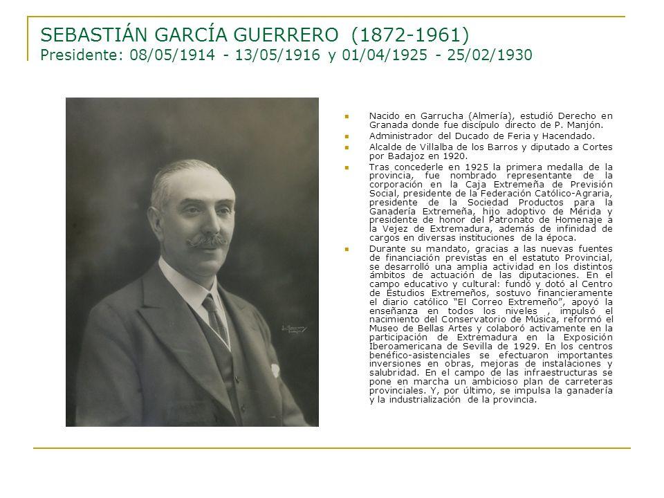 Nacido en Garrucha (Almería), estudió Derecho en Granada donde fue discípulo directo de P. Manjón. Administrador del Ducado de Feria y Hacendado. Alca