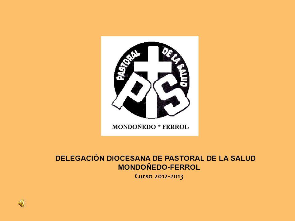 DELEGACIÓN DIOCESANA DE PASTORAL DE LA SALUD MONDOÑEDO-FERROL Curso 2012-2013