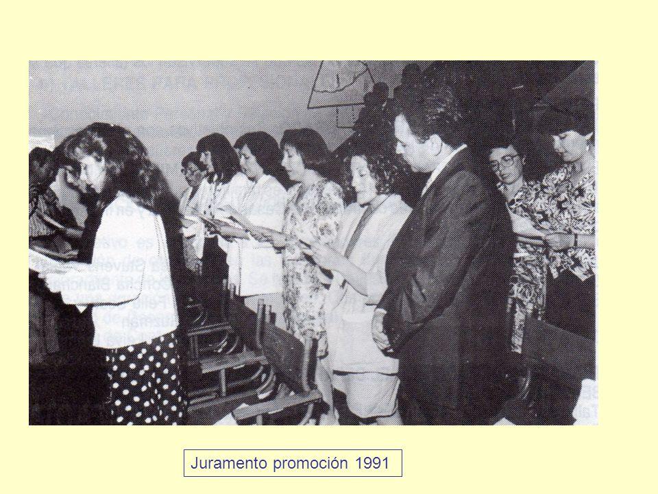 Juramento promoción 1991