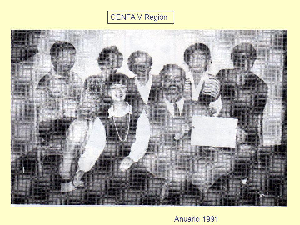 CENFA V Región Anuario 1991