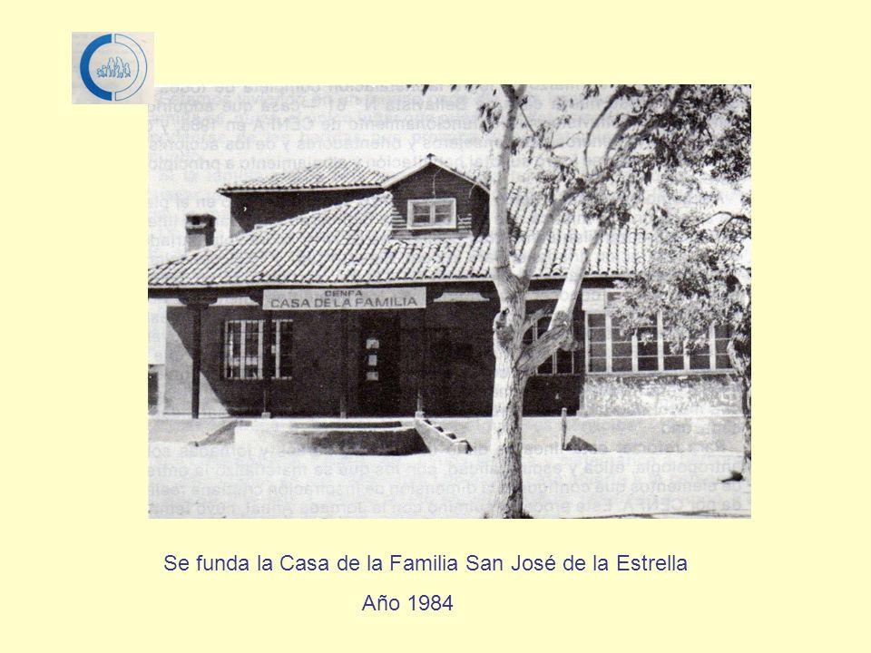 Se unen Consejeros, Monitores Familiares, miembros del Directorio, personal administrativo y amigos de CENFA y se forma la Inmobiliaria Bellavista S.A.