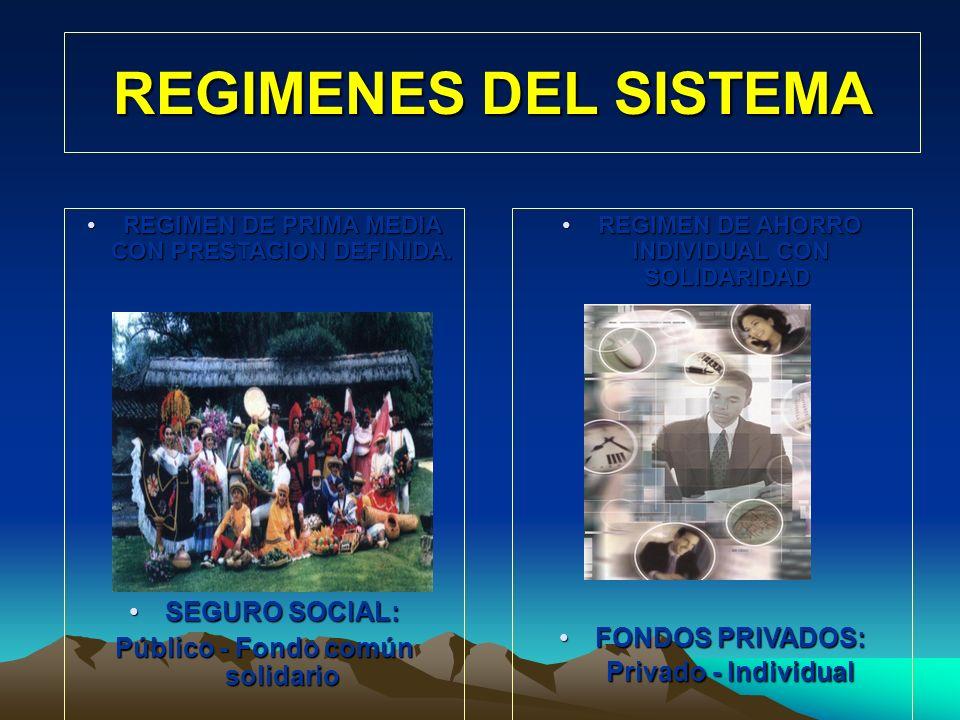 SISTEMA GENERAL DE PENSIONES EXCEPTUADOS VIGENCIA AFILIADOS – Obligatorios y Voluntarios CONTINGENCIAS CUBIERTAS NUEVOS MODELOS ? (Chile) Modelo en re