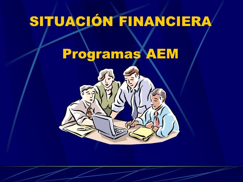 SITUACIÓN FINANCIERA Programas AEM