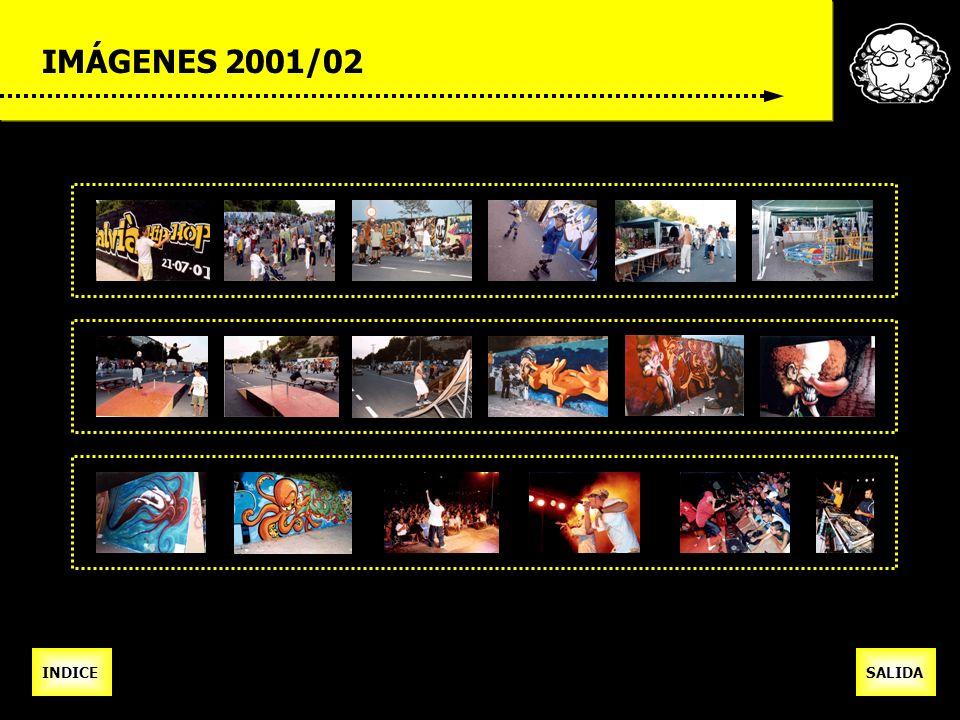 IMÁGENES 2001/02 INDICESALIDA