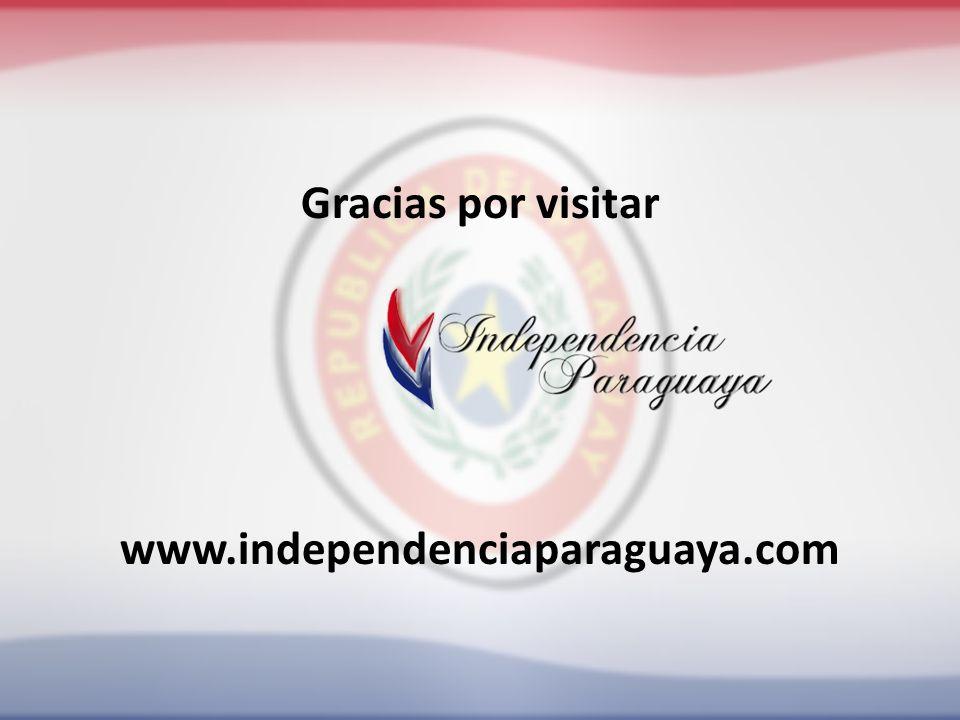 Gracias por visitar www.independenciaparaguaya.com