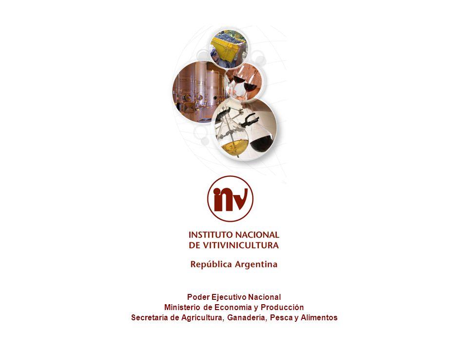 Poder Ejecutivo Nacional Ministerio de Economía y Producción Secretaría de Agricultura, Ganadería, Pesca y Alimentos