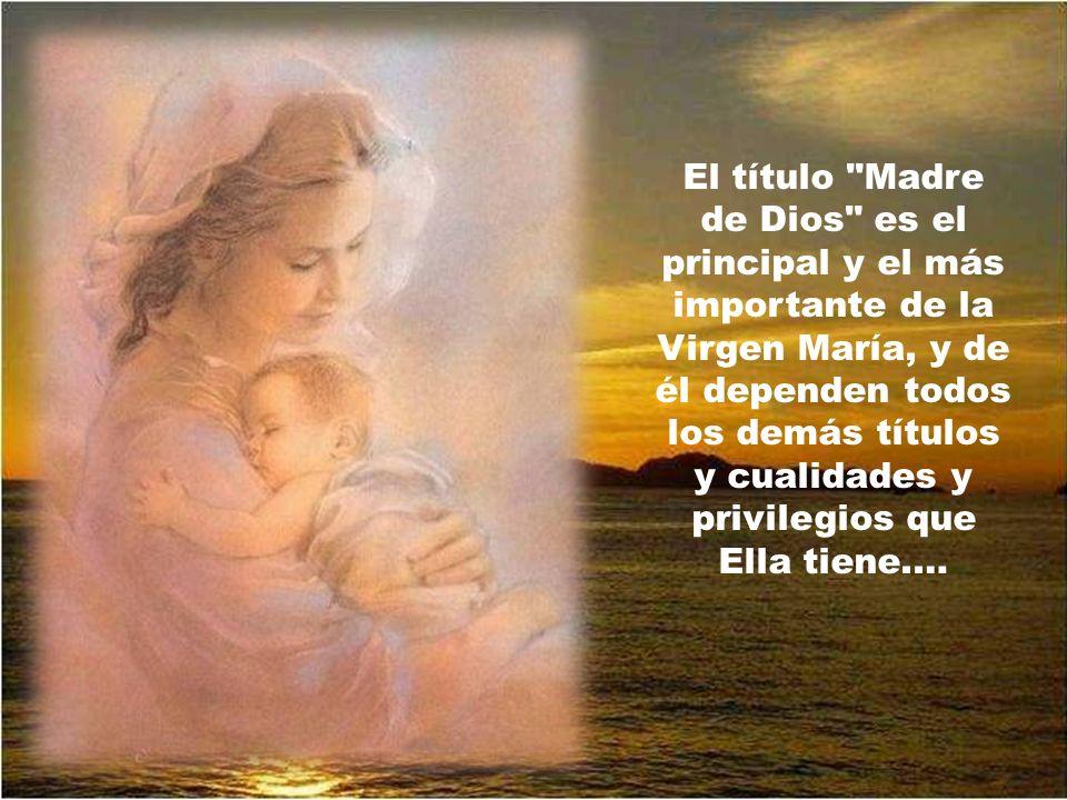 Abrir el año con la solemnidad de la Maternidad divina de María es el mejor comienzo y el mejor colofón.