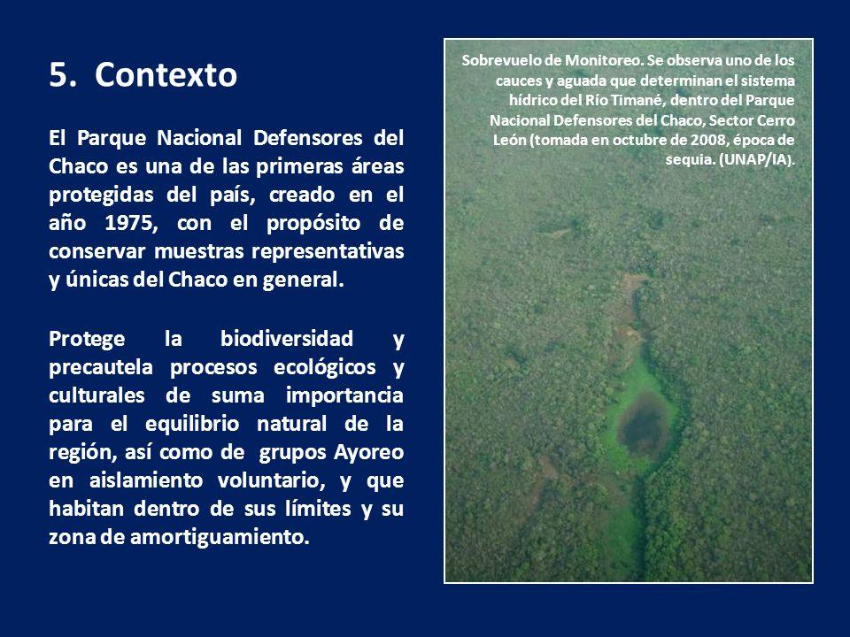 El Parque Nacional Defensores del Chaco es una de las primeras áreas protegidas del país, creado en el año 1975, con el propósito de conservar muestra