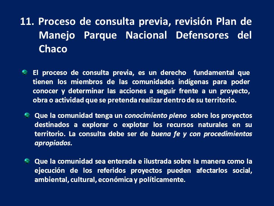 El proceso de consulta previa, es un derecho fundamental que tienen los miembros de las comunidades indígenas para poder conocer y determinar las acci