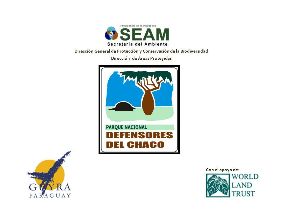 Dirección General de Protección y Conservación de la Biodiversidad Dirección de Áreas Protegidas Con el apoyo de: