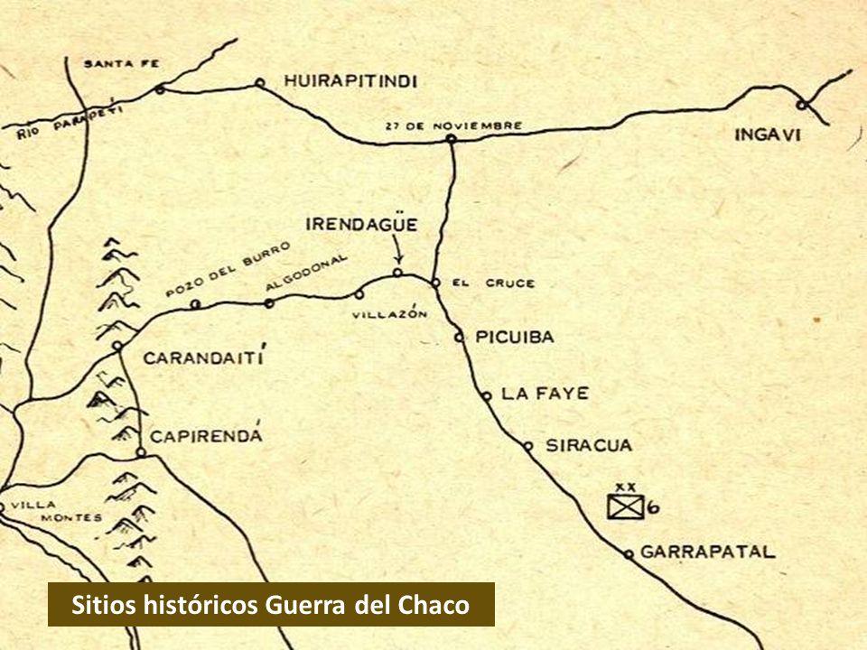 Sitios históricos Guerra del Chaco