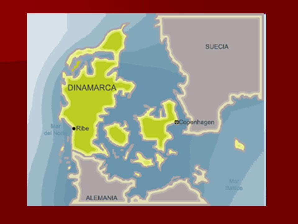 Pirámide tipo bulbo debido a que Dinamarca se encuentra en una etapa de equilibrio: baja natalidad y baja mortalidad, lo que implica un envejecimiento progresivo de la población debido al aumento de la duración de vida promedio de sus habitantes.