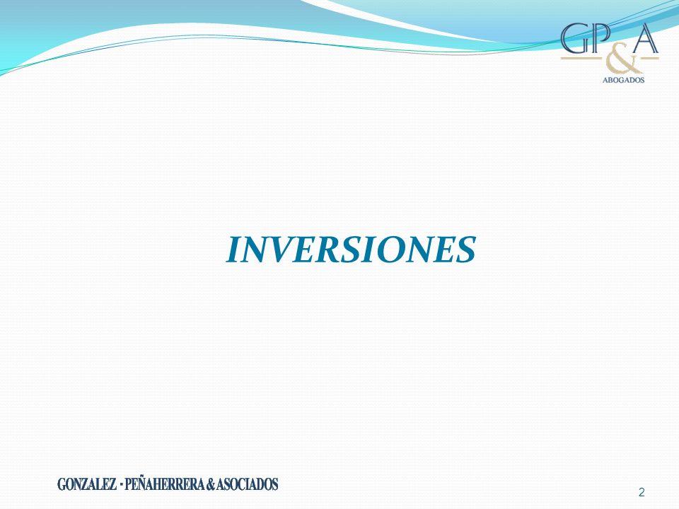 2 INVERSIONES