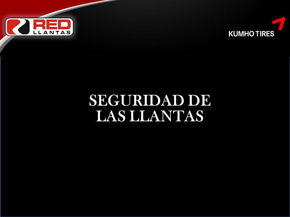 SEGURIDAD DE LAS LLANTAS