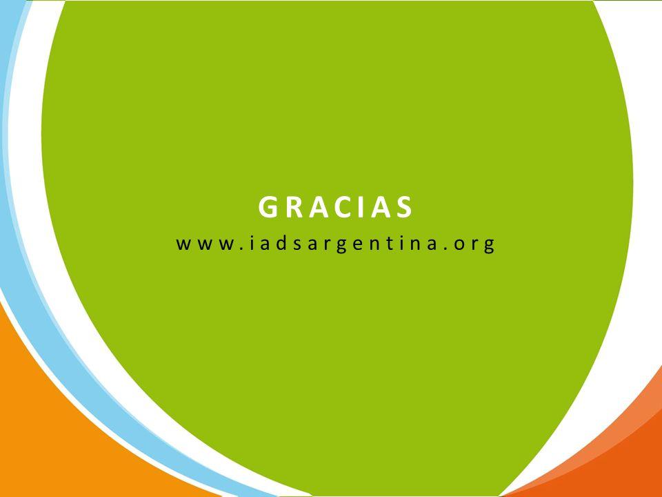 GRACIAS www.iadsargentina.org