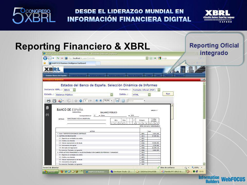 Reporting Financiero & XBRL Reporting Oficial integrado