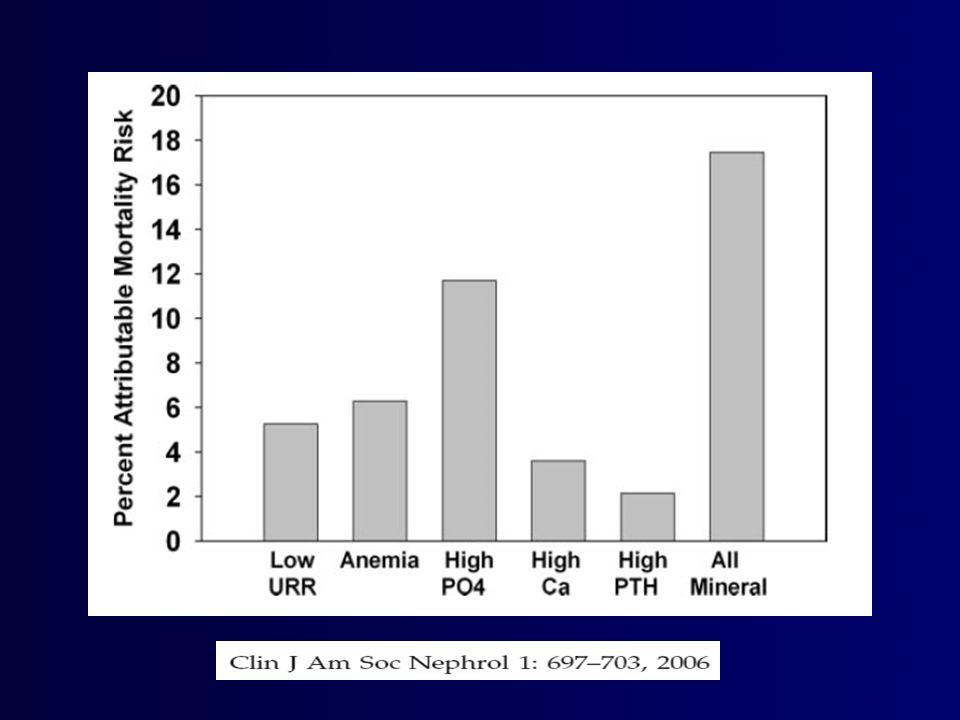 Phosphorus Progression of Renal Disease Vascular Calcification Secondary Hyperparathyroidism
