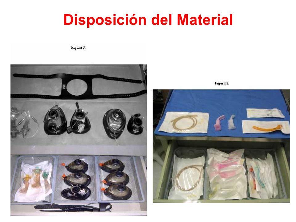 Disposición del Material