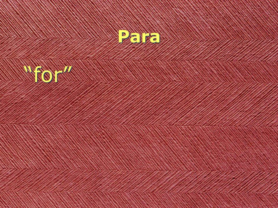 Para for