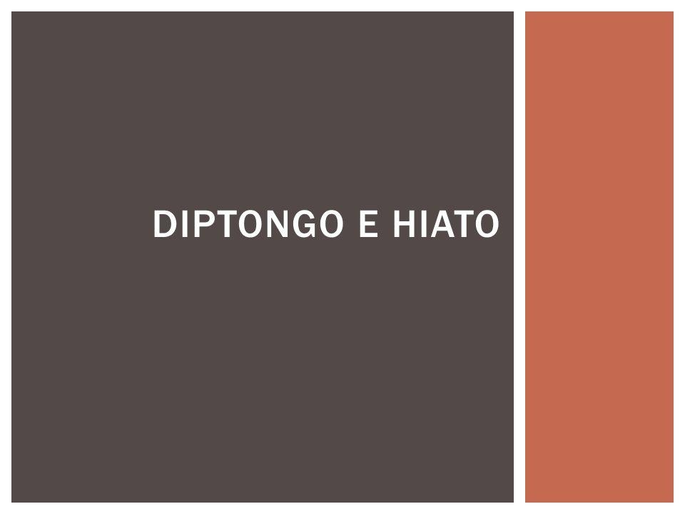 Es la unión de 2 vocales en una sola sílaba.Cuando hay diptongo las vocales nunca se separan.
