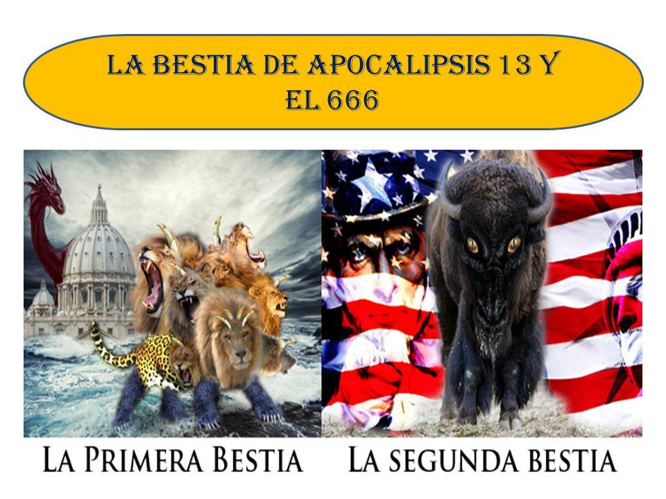 Dado la importancia que tiene este propósito de la bestia «contra» miremos su cumplimiento 1).