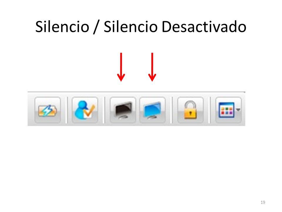 Silencio / Silencio Desactivado 19