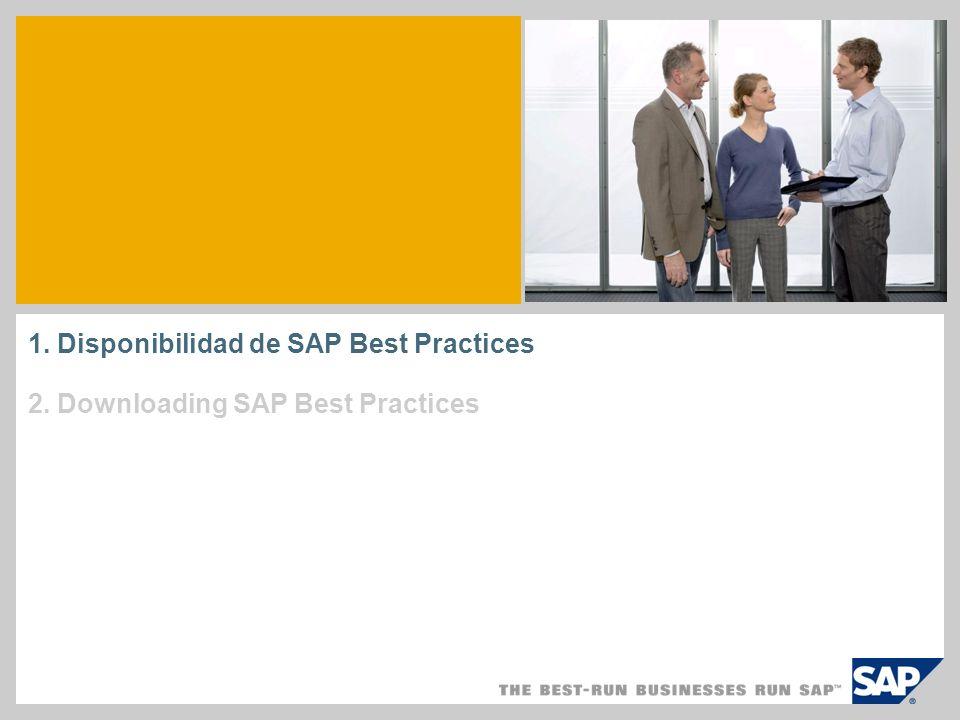 ¿ Quién puede obtener SAP Best Practices.