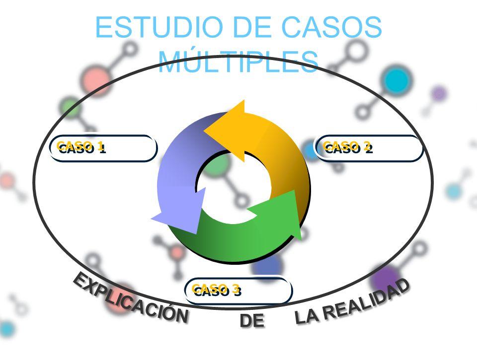 ESTUDIO DE CASOS MÚLTIPLES CASO 1 CASO 2 CASO 3