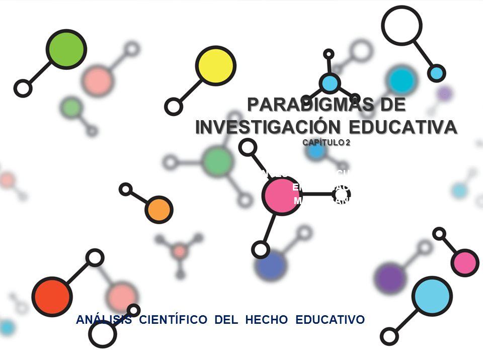 PARADIGMAS DE INVESTIGACIÓN EDUCATIVA CAPÍTULO 2 INVESTIGACIÓN CUALITATIVA EN EDUCACIÓN M. PAZ SANDÍN ANÁLISIS CIENTÍFICO DEL HECHO EDUCATIVO