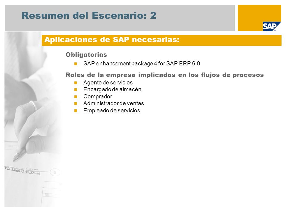 Resumen del Escenario: 3 Reparaciones en centro Un agente de servicios crea un aviso de servicio en el sistema.
