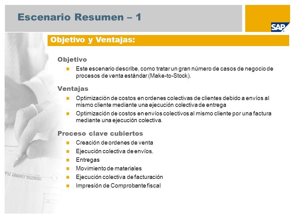 Scenario Overview – 2 Requerimientos SAP ECC 6.3 Roles de usuario involucrados en el flujo de proceso Administrador de Ventas Almacenista Facturación Cuentas por Cobrar Componentes requeridos: