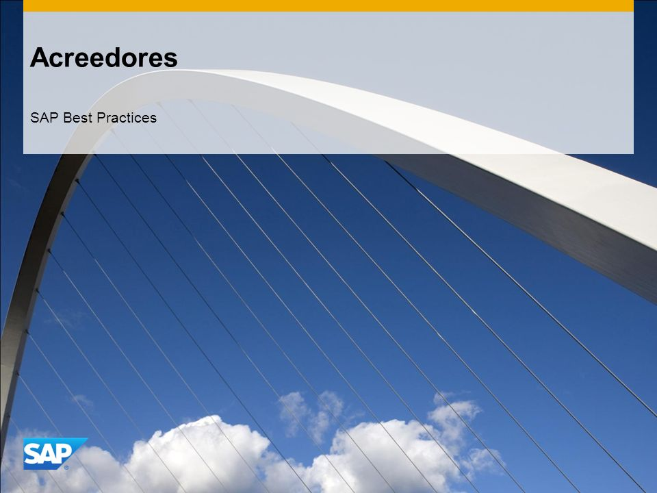 Acreedores SAP Best Practices
