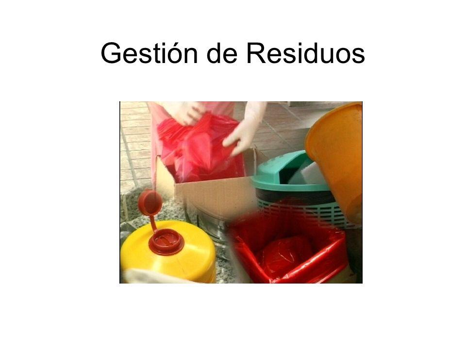 Gestión de Residuos es el conjunto de actividades encaminadas a dar a los residuos el destino final más adecuado.