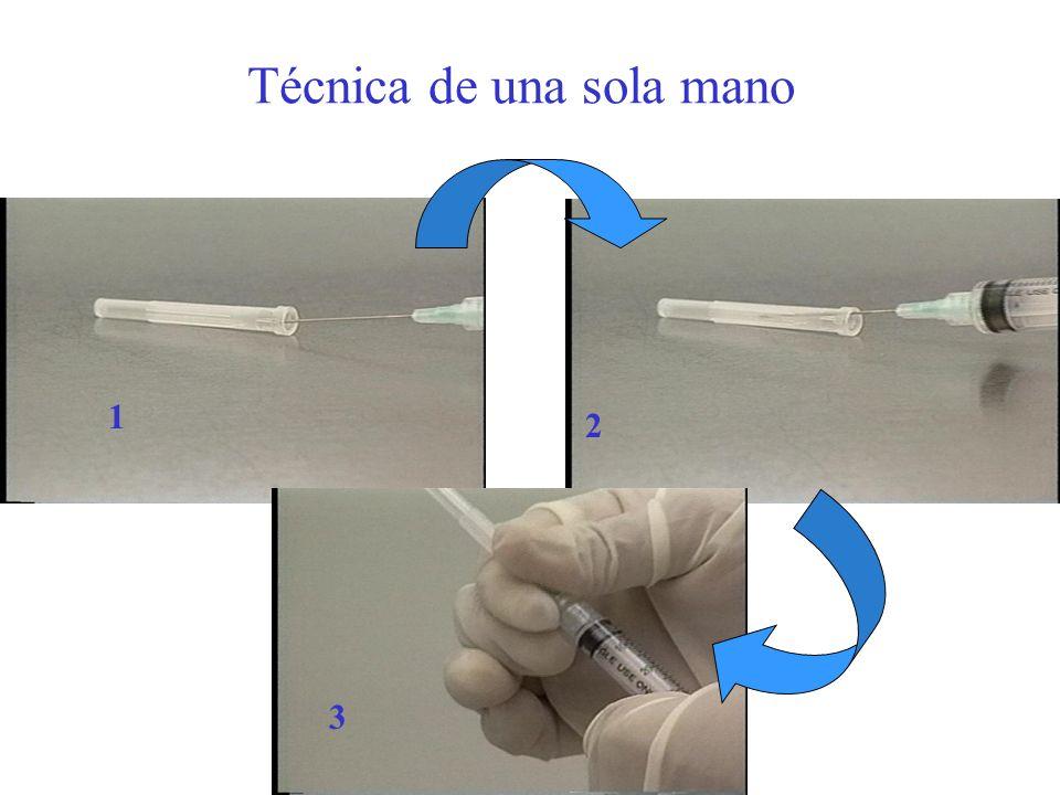 Técnica de una sola mano 2 1 3