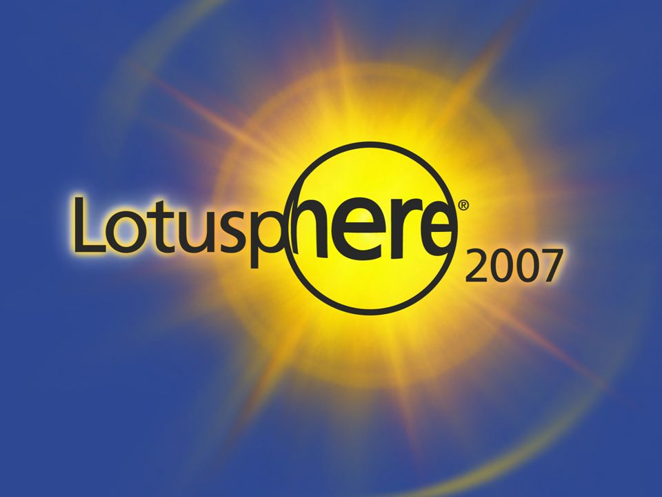 ® Workplace Forms: formularios electrónicos basados en estándares Luis Sánchez Acera, Lotus Tech Sales