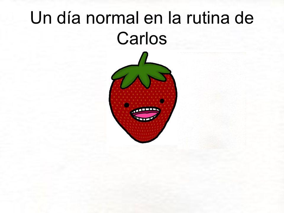Un día normal en la rutina de Carlos
