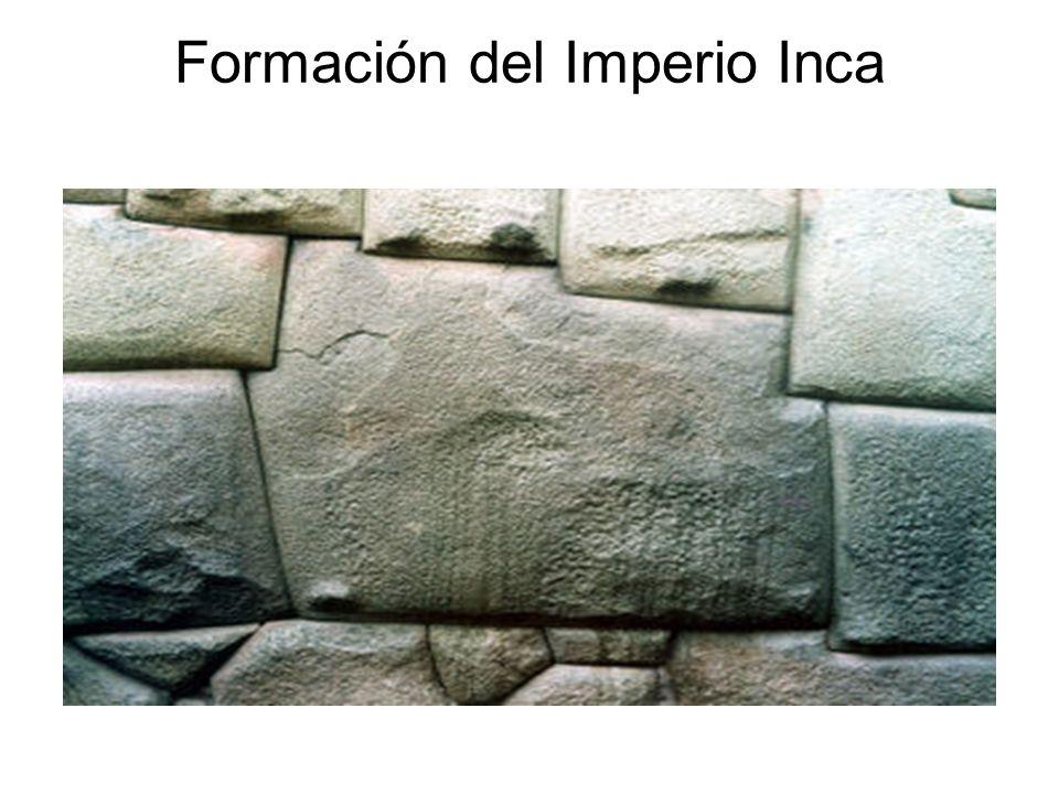 Formación del Imperio Inca