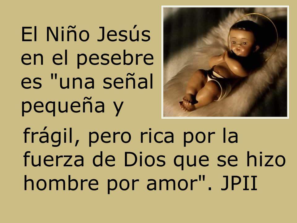 El Niño Jesús en el pesebre es