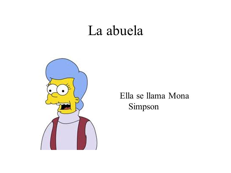 La abuela Ella se llama Mona Simpson